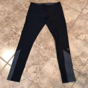 Women's work our stripped pants